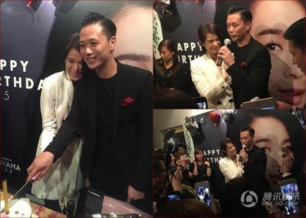 Ho Hanh Nhi cong bo anh cuoi va nhan dinh hon hinh anh 6 Trước đó, trong buổi tiệc sinh nhật ngày 6/11, Hồ Hạnh Nhi được bạn trai cầu hôn bằng nhẫn kim cương đắt tiền.