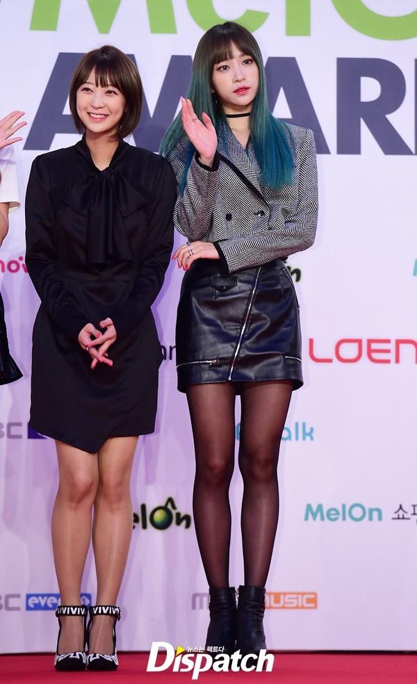 Yoona (SNSD) goi cam tren tham do hinh anh 5 Các ngôi sao Kpop khác tới Melon Music Awards 2015 gồm EXID của hot girl Hani.