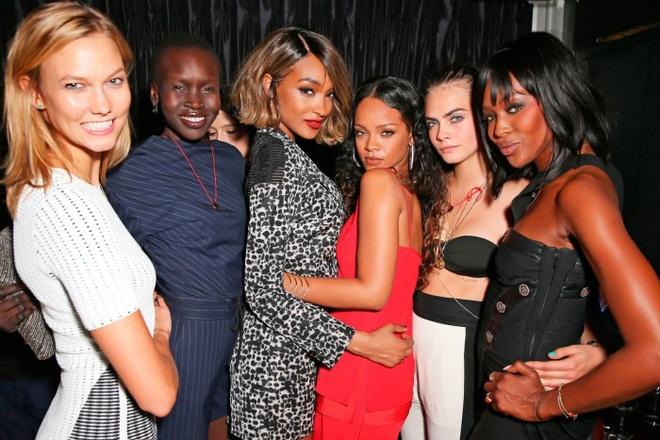 Jourdan Dunn là bạn của Rihanna.