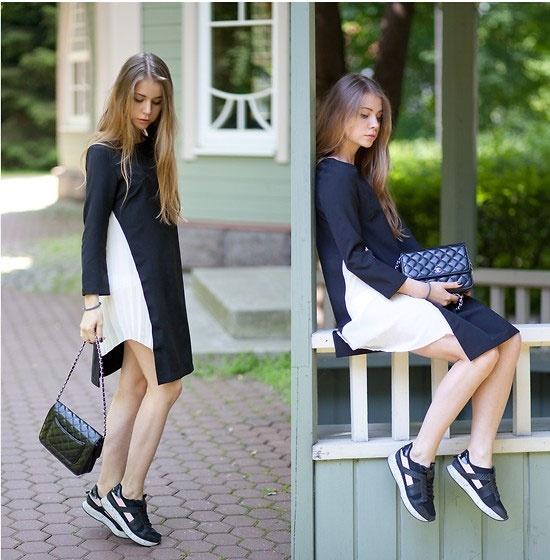 Style mua thu nao duoc long gioi tre the gioi nhat? hinh anh 3 Anna Vershinina 25 tuổi đẹp dịu dàng trong những set đồ thời thượng ngày thu.