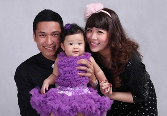 Dieu it biet ve con cua cac MC Viet noi tieng hinh anh 4 Diệp Chi hạnh phúc với  gia đình bé nhỏ của mình