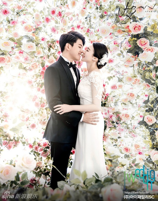 Than tuong cuoi vo som nhat Kpop cong bo anh cuoi hinh anh 1