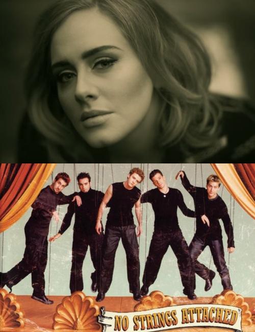 Adele duoc du doan vuot N'Sync ve doanh thu ban dia hinh anh 2