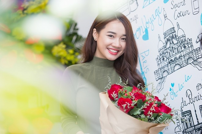 Nha Phuong: 'Dung xa ung ho Truong Giang la niem hanh phuc' hinh anh 3