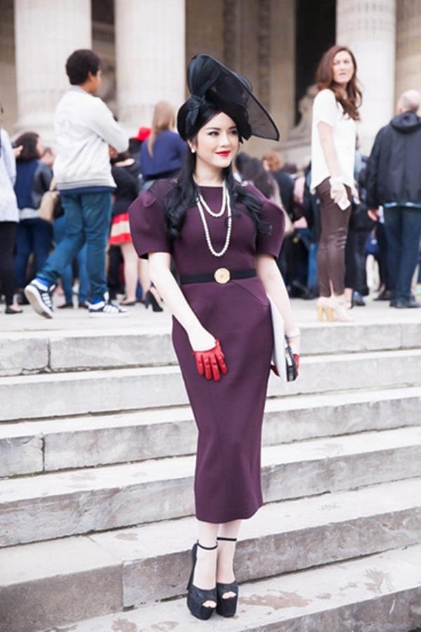 Ly Nha Ky - Ho Ngoc Ha: Hai bieu tuong thoi trang Vbiz hinh anh 10