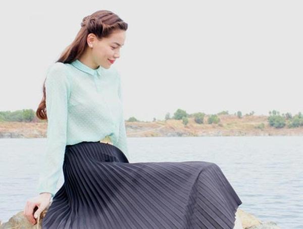 Ly Nha Ky - Ho Ngoc Ha: Hai bieu tuong thoi trang Vbiz hinh anh 16