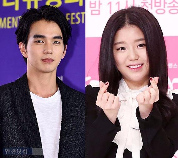Kieu nu Han bi nghi ngo dua hoi ong bo noi tieng hinh anh 1 Yoo Seung Ho và Jo Hye Jung trong cặp trong Imaginary Cat.