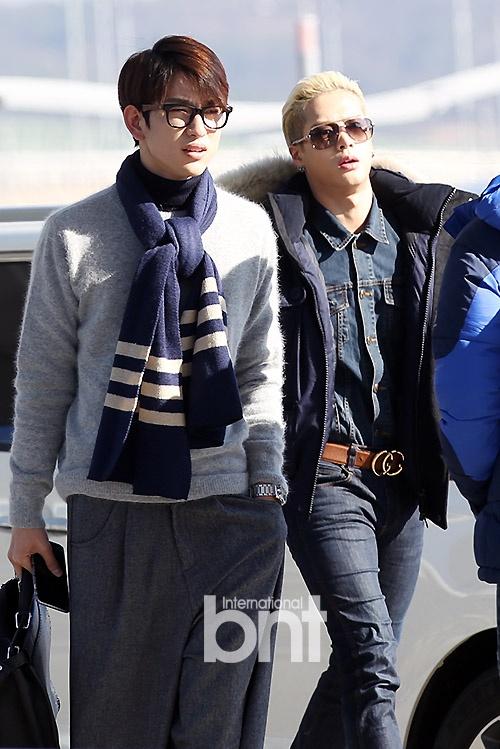 Sao Kpop dong loat len duong du MAMA 2015 hinh anh 13  Junior và Jackson