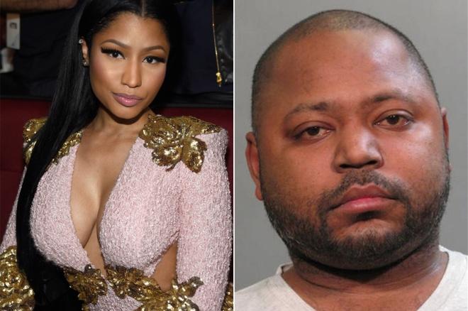 Nicki ngay lập tức nộp tiền bảo lãnh khi anh trai bị bắt.
