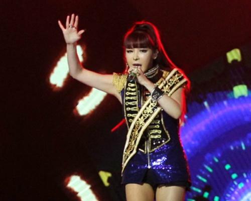 Park Bom (2NE1) gay tranh cai vi xo day vu cong hinh anh