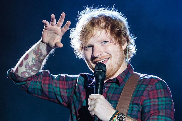 Ed Sheeran kiem bac ty, tieu bac cac hinh anh