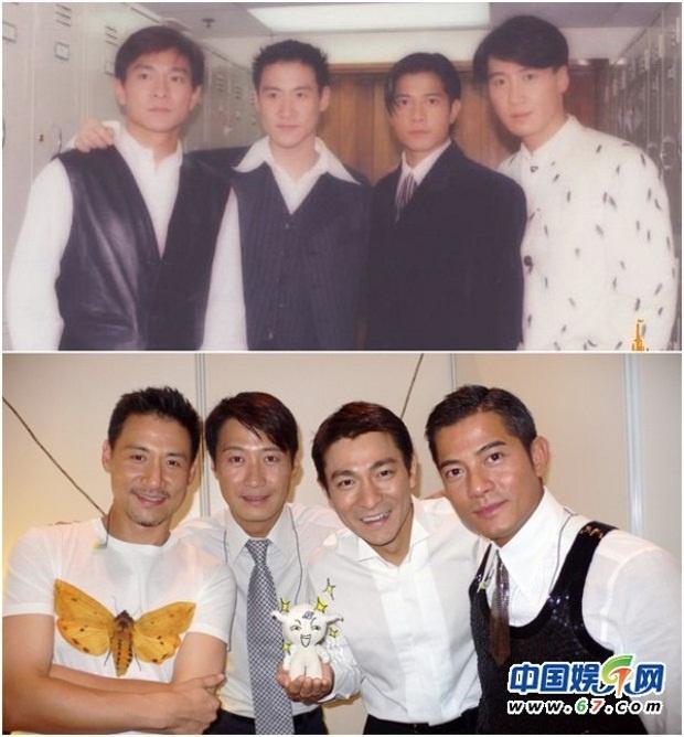 Le Minh khong muon tai hop Tu dai Thien vuong hinh anh 1 Tứ đại Thiên vương năm xưa và lần gần đây nhất sum họp 8 năm trước.