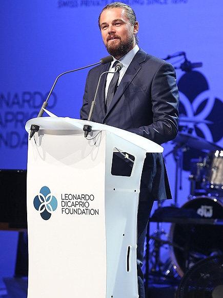 Leonardo DiCaprio va ngoai truong My ban ve bien doi khi hau hinh anh 2