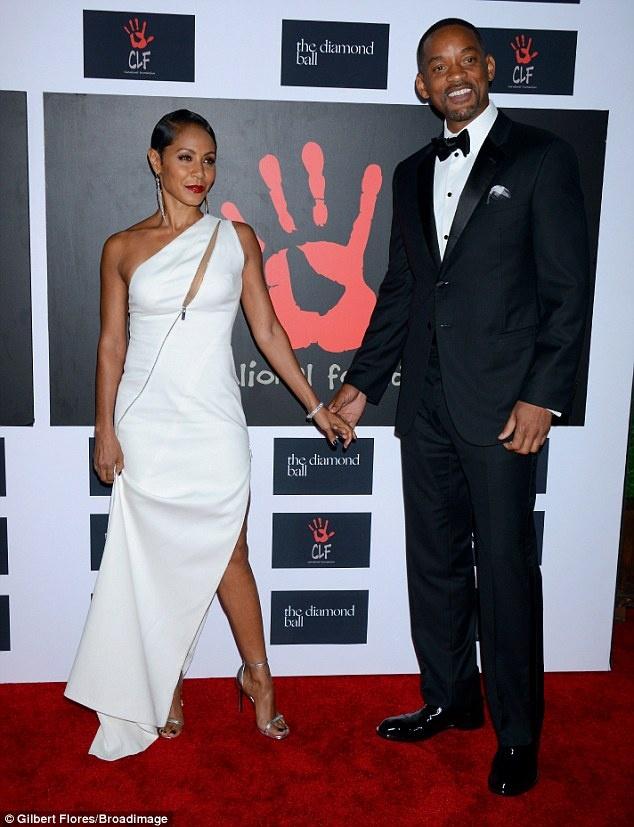 Rihanna goi cam trong dem tiec rieng hinh anh 6 Vợ chồng tài tử Will – Jada Smith.