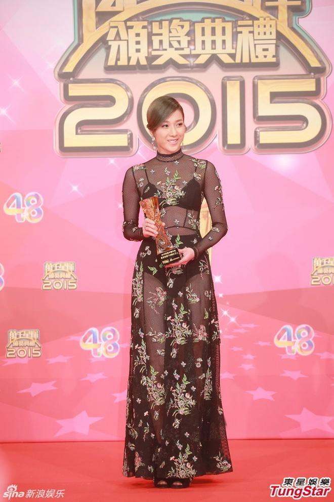 Nhung khoanh khac an tuong trong le trao giai TVB 2015 hinh anh 10