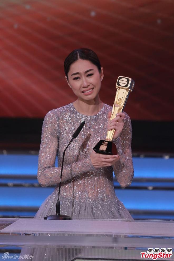 Nhung khoanh khac an tuong trong le trao giai TVB 2015 hinh anh 3