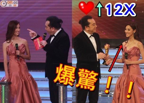 Nhung khoanh khac an tuong trong le trao giai TVB 2015 hinh anh 5