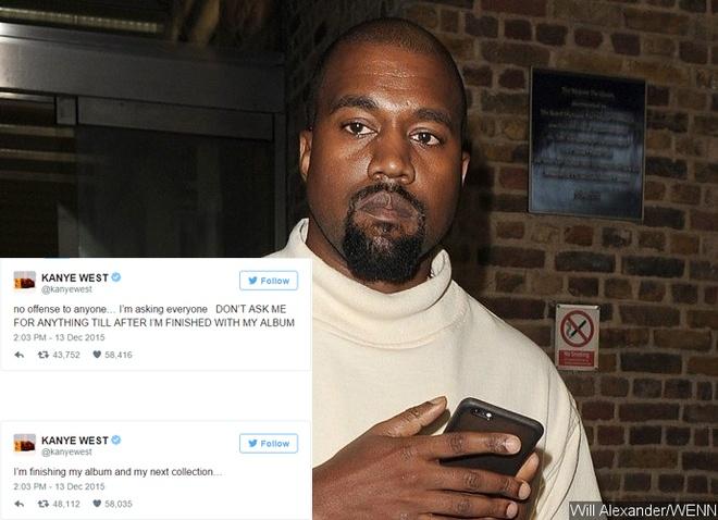 Kanye West cau kinh khi bi hoi ve album moi hinh anh 2
