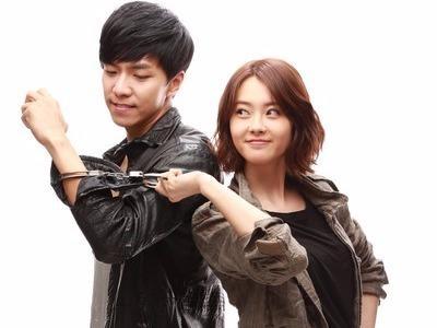 Lee Seung Gi va Go Ara thanh doi 'oan gia' hinh anh