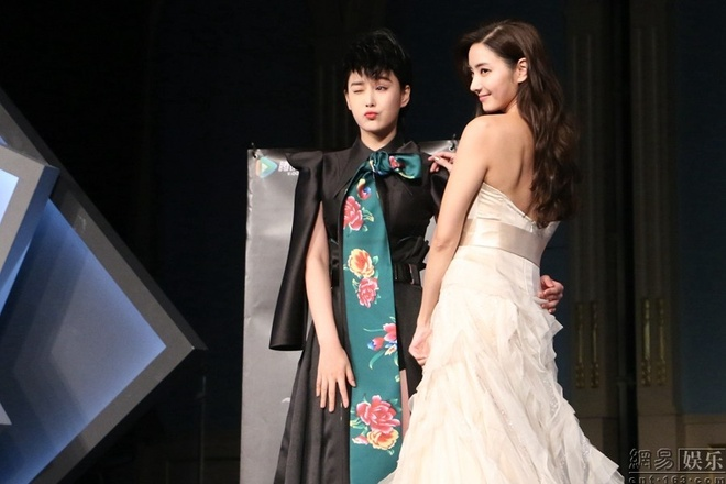Truong Hinh Du ca tinh catwalk cung Han Chae Young hinh anh 4 a