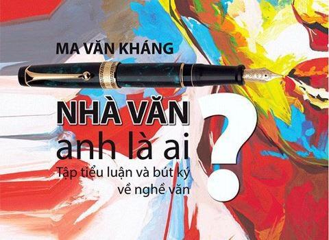 Ma Van Khang ve chan dung nha van hinh anh
