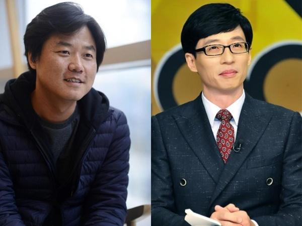 Nhung nhan vat dan dau van hoa pop Han Quoc nam 2015 hinh anh 2 Nhà sản xuất Na Young Suk và MC Yoo Jae Suk quyền lực nhất nhì trong làng truyền hình Hàn Quốc.