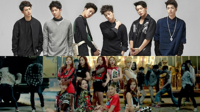 Buc tranh toan canh Kpop 2015 hinh anh 3