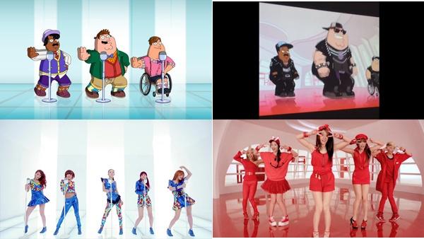 MV cua HyunA, SISTAR xuat hien trong phim truyen hinh My hinh anh 3