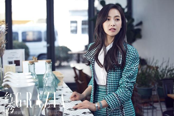 Victoria ngot ngao, Truong Quan Ninh sac lanh tren tap chi hinh anh 1