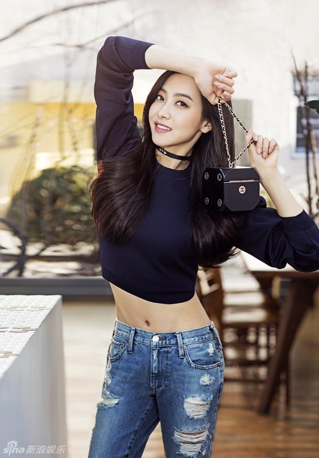 Victoria ngot ngao, Truong Quan Ninh sac lanh tren tap chi hinh anh 3