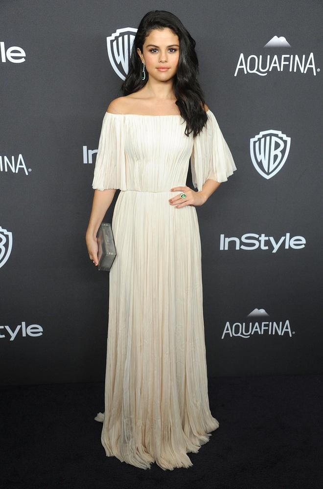 Selena Gomez mong gap Brad Pitt o Qua cau vang hinh anh 1
