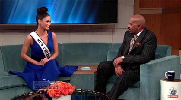 MC Miss Universe khoc xin Hoa hau Colombia tha thu hinh anh 3