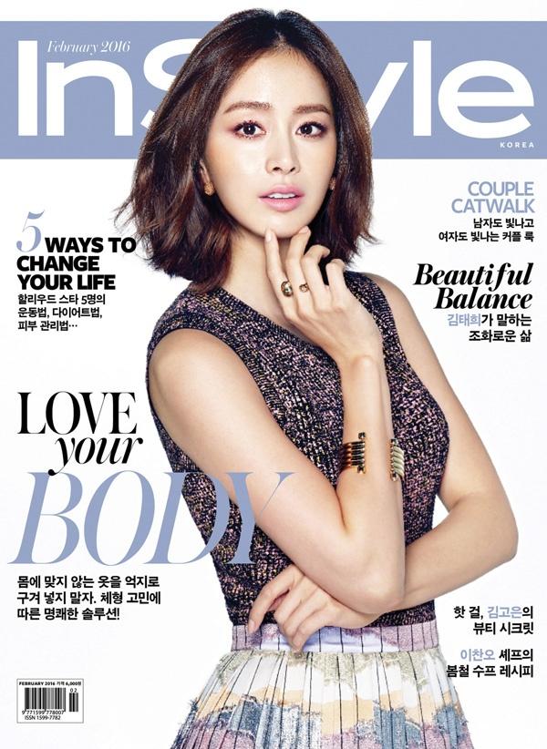 Kim Tae Hee khoe net tuoi tre tren tap chi hinh anh 1