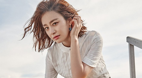 Kim Tae Hee khoe net tuoi tre tren tap chi hinh anh