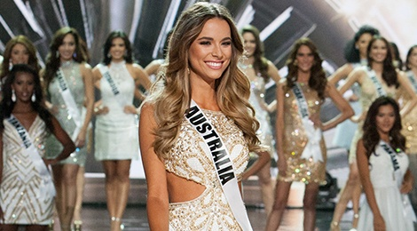 Hoa hau Australia xin loi vi che Top 3 Miss Universe hinh anh