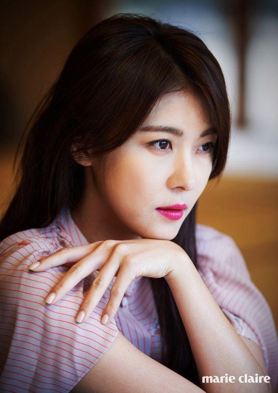 Ha Ji Won ngot ngao ben tai tu Dai Loan tren tap chi hinh anh 5