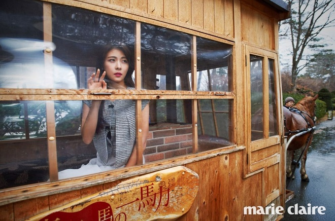 Ha Ji Won ngot ngao ben tai tu Dai Loan tren tap chi hinh anh 7