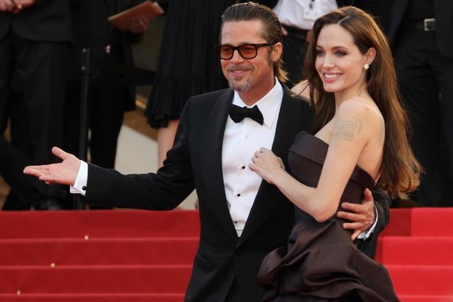 Gia dinh Angelina Jolie chuyen den Anh o giua tin don ly hon hinh anh 1