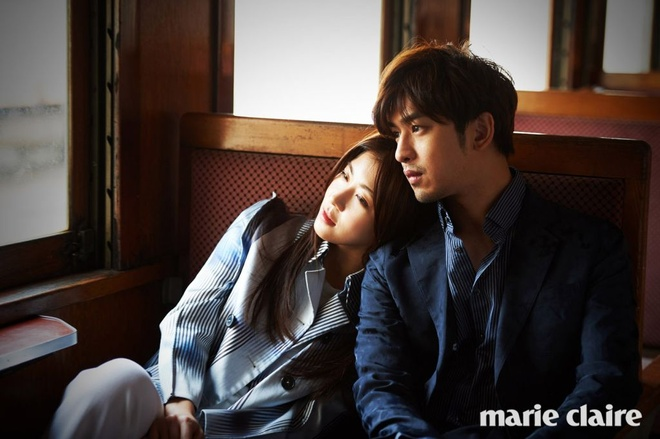 Ha Ji Won ngot ngao ben tai tu Dai Loan tren tap chi hinh anh 3