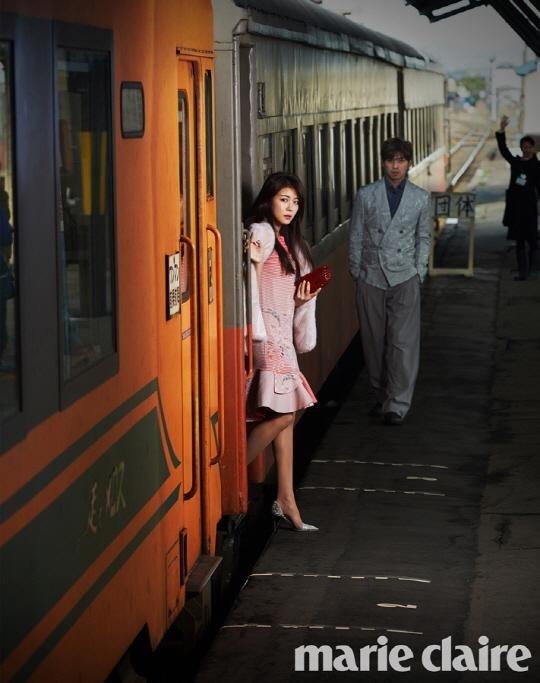 Ha Ji Won ngot ngao ben tai tu Dai Loan tren tap chi hinh anh 4