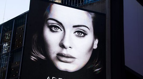 Album cua Adele bi mat ngoi dau bang hinh anh