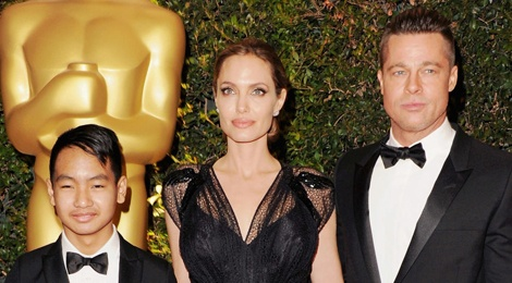 Angelina Jolie khong muon cac con tro thanh dien vien hinh anh