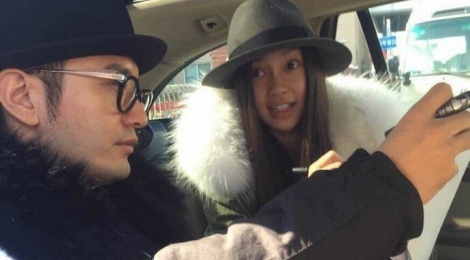 Huynh Hieu Minh, Angelababy voi vang ve que don Tet hinh anh