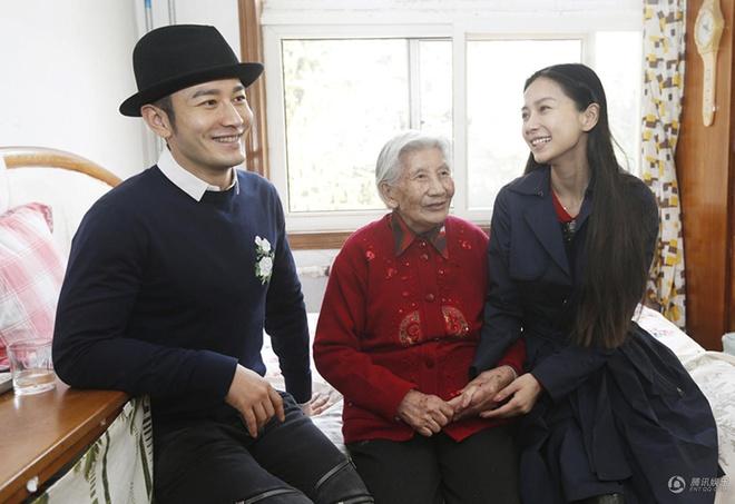 Angelababy va Huynh Hieu Minh dau xuan di tu thien hinh anh 1