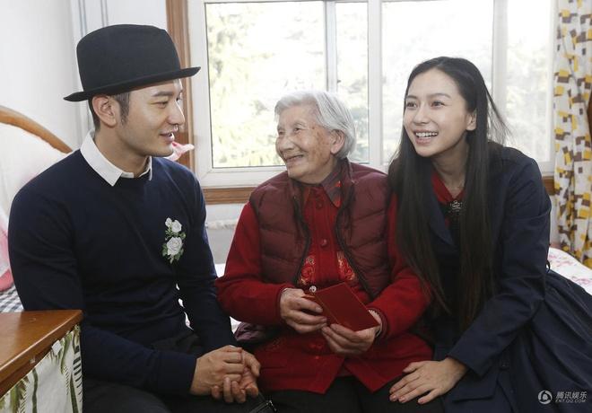 Angelababy va Huynh Hieu Minh dau xuan di tu thien hinh anh 2
