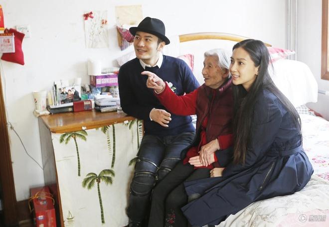 Angelababy va Huynh Hieu Minh dau xuan di tu thien hinh anh 3