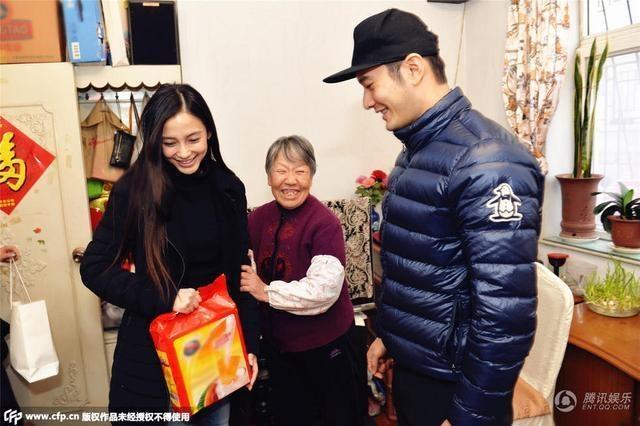 Angelababy va Huynh Hieu Minh dau xuan di tu thien hinh anh 4