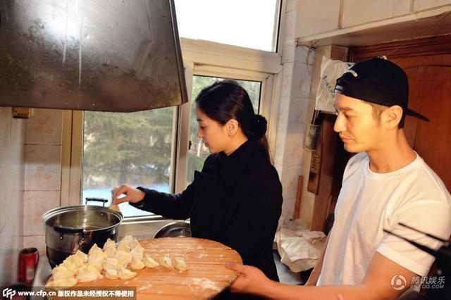 Angelababy va Huynh Hieu Minh dau xuan di tu thien hinh anh 6