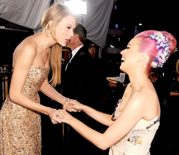 Katy Perry moi Taylor Swift den du tiec Grammy hinh anh 1