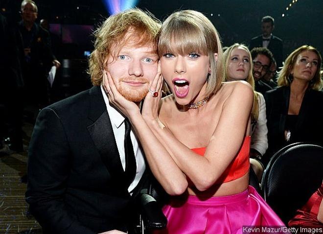 Taylor Swift viet thu xuc dong cho Ed Sheeran hinh anh 1